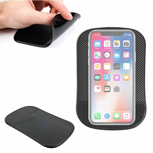 - DURAGADGET Non-Slip Magic Rubber Dashboard Mat For Apple iPhone 4, iPhone 3G S & iPod Touch