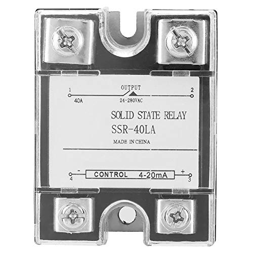 SSR-40LA 40A General Purpose Relay,Solid State Relay Module for Industrial Automation Process