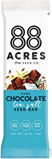 product image for 88 Acres, Dark Chocolate Sea Salt Seed Bar, 1.6 Ounce