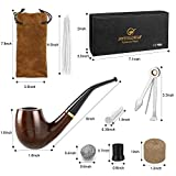 Joyoldelf Wooden Tobacco Smoking Pipe, Pear Wood