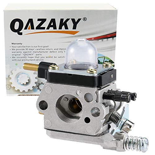 QAZAKY Carburetor Replacement for Zama C1U-K17 C1U-K27A K27B C1U-K46 C1U-K54 K54A Echo TC210 TC210i TC2100 LHD1700 Mantis 7222 7222E 7222M 7225 7230 7240 7920 7924 2-cycle String Trimmer Mantis Tiller -  12520013123 12520013124
