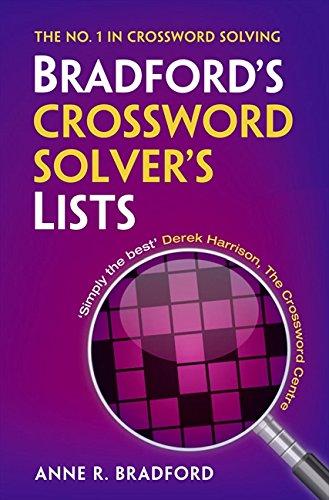 Collins Bradford S Crossword Solver S Lists Amazon Co Uk Bradford Anne R 9780007441365 Books