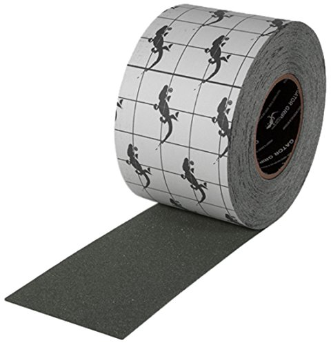 Gator Grip : SG3404GY Premium Grade High Traction Non Slip 60 Grit Indoor Outdoor Colored Anti-Slip Tape, 4 Inch x 60 Foot, Gray by Gator Grip (Image #2)