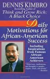Download Daily Motivations for African-American Success: Including Inspirations from Famous African-American Achievers in PDF ePUB Free Online