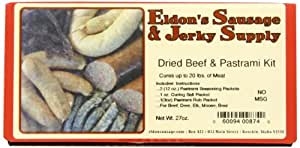 Eldon's Sausage and Jerky Supply Dried Beef and Pastrami Combo Kit