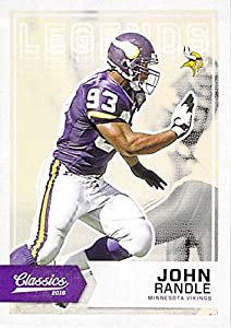 Football NFL 2016 Classics Legends #167 John Randle NM-MT Vikings