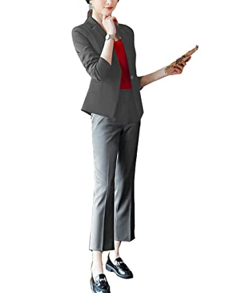 ShiFan Trajes De Mujer Elegant Blazers Abrigo OL Casual ...