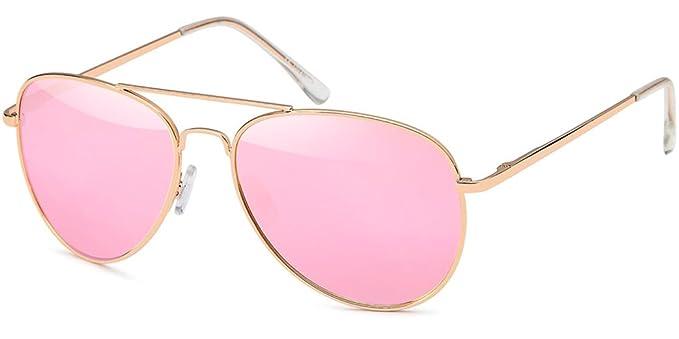 Rahmen Schwarz - Glas Pink/Rosa verspiegelt) rYoU5boIx