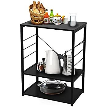 yinfeng 3tier storage rack standing shelving unit storage shelves for home kitchen storage