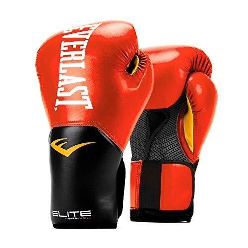 Everlast   P00001243 10 Boxing Gloves Elite Pro Style V2 Red 10oz