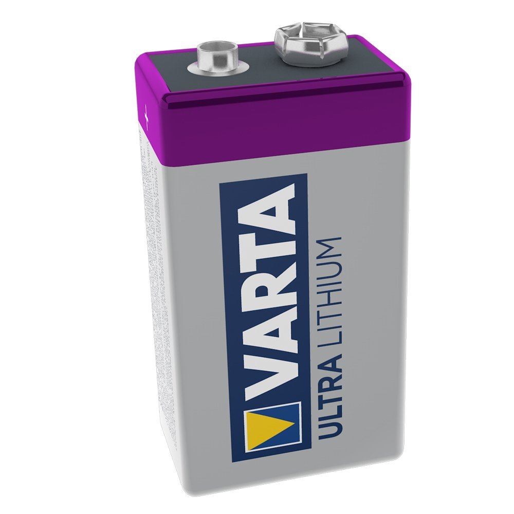 Varta Professional Lithium 9V Battery