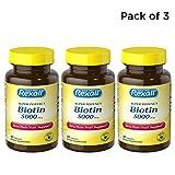 Rexall Biotin 5000 Mcg – Capsules – 90 ct. (Pack of 3) Review