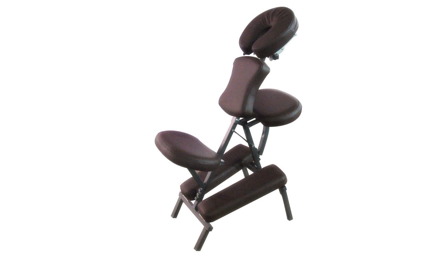 Sivan Health and Fitness MS08-CHCO Portable Massage Folding Chair, Chocolate