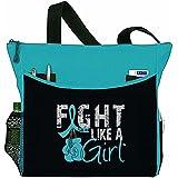 "Fight Like a Girl Boxing Glove Tote Bag ""Dakota"" - 8 Colors"