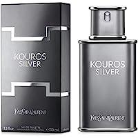 Yves Saint Laurent Kouros Silver - perfume for men, 100 ml - EDT Spray