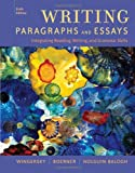 Writing Paragraphs and Essays: Integrating Reading, Writing, and Grammar Skills (Available Titles CengageNOW)