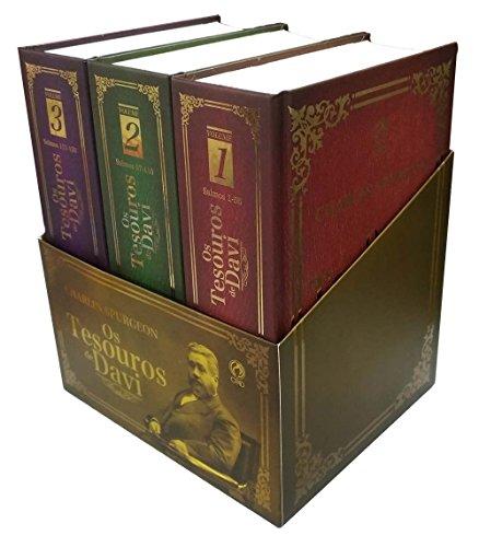Os Tesouros de Davi - Caixa com 3 Volumes