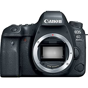 """Canon Cameras US 26.2 EOS 6D Mark II Body with 3"""" LCD"""