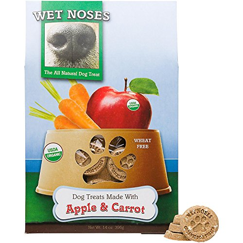 (Wet Noses Apple & Carrot Organic Dog Treat)