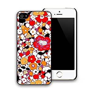 Colorful Floral Flower Pattern Hard Plastic Back Case Cover for iphone 5 iphone 5s