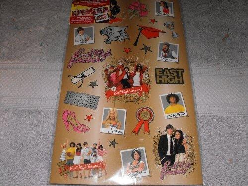 - High School Musical 3 Sticker Sheet & Mini Poster
