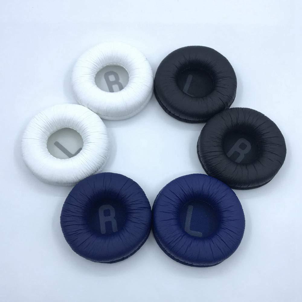 BAQI 1 par de Almohadillas de Repuesto para Almohadilla para JBL T450BT T500BT Tune600BTNC Auriculares inal/ámbricos Bluetooth