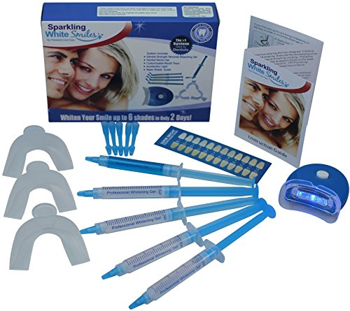 (Spa Series Bright White Professional Teeth Whitening System for Optimal Results. Whiten Teeth Up To 6 Shades in Only 2 Days!)