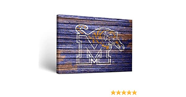 Victory Tailgate Memphis Tigers Canvas Wall Art Weathered Version