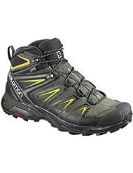 Salomon Mens X Ultra 3 Wide Mid GTX Hiking Boots