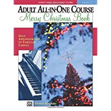 Alfred's Basic Adult All-in-One Christmas Piano, Bk 2