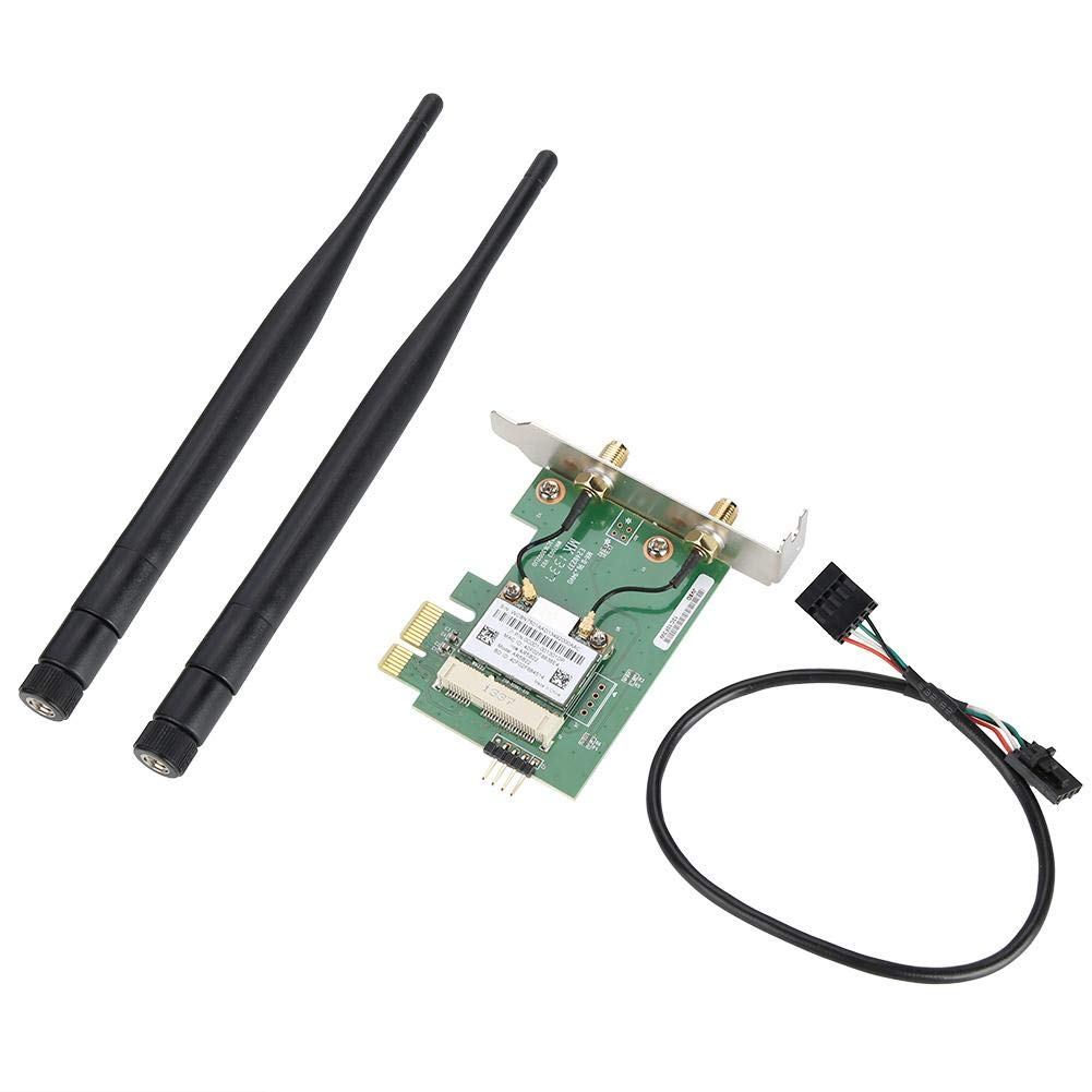 ASHATA AR5B22 Dual Band 300M Wireless PCI-E WiFi Card Adapter Bluetooth 4.0 Network Card for Desktop