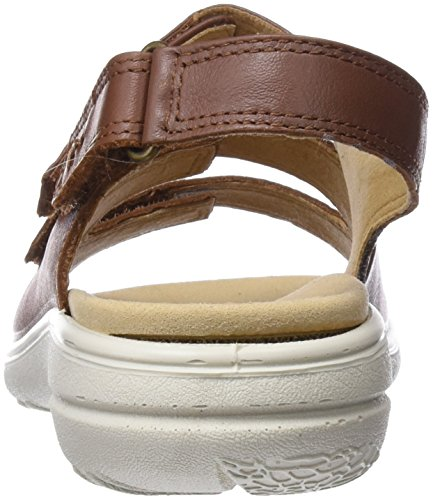 Tan Open Toe Dk Sophia Women's Sandals Hotter Brown gHAOfnA