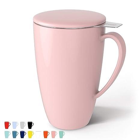 Amazon.com: Taza de té Sweese. Taza de porcelana con ...