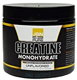 Creatine Monohydrate Powder Supplement from JBN. 30 Servings, 5 Grams Per Serving. Great For Post Workout Recovery Or Pre-Workout Endurance. Unflavored, Easily Mixable FREE SAMPLES with every order! Review