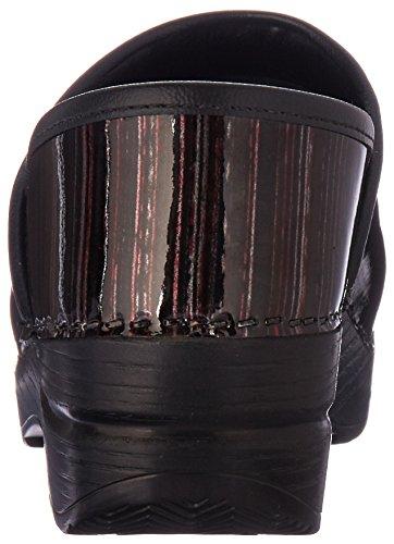 Clog Dansko patent Women's wine striped Professional wSxPxYqAa