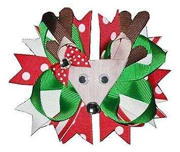 Rudolph Boutique Hair Bow