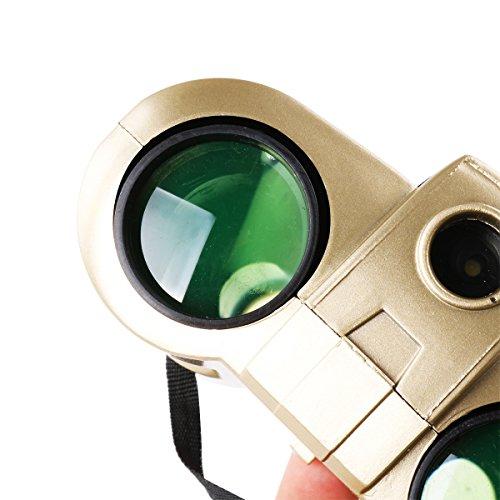 Freebily 4x30 Night Scope Binoculars Telescope with Pop-up Spotlight Fun Cool Toy Gift for Kids Boys Girls by Freebily (Image #7)