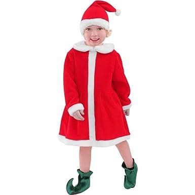 Amazon.com: De Papá Noel Ayudante Disfraz infantil del niño ...
