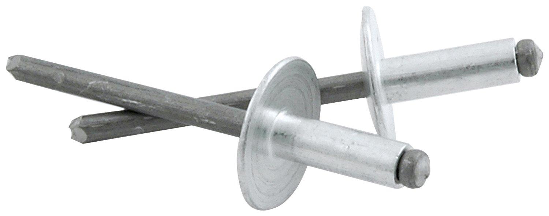 Allstar Performance ALL18149 Aluminum 1//8-1//4 Grip Range Large Head Rivet, Pack of 250
