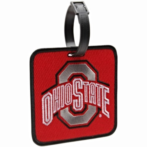 NEW! Ohio State Buckeyes Golf Bag Tag Embroidered Luggage Tag