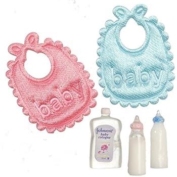 Amazon.com: Dollhouse miniatura bebé Set: Toys & Games