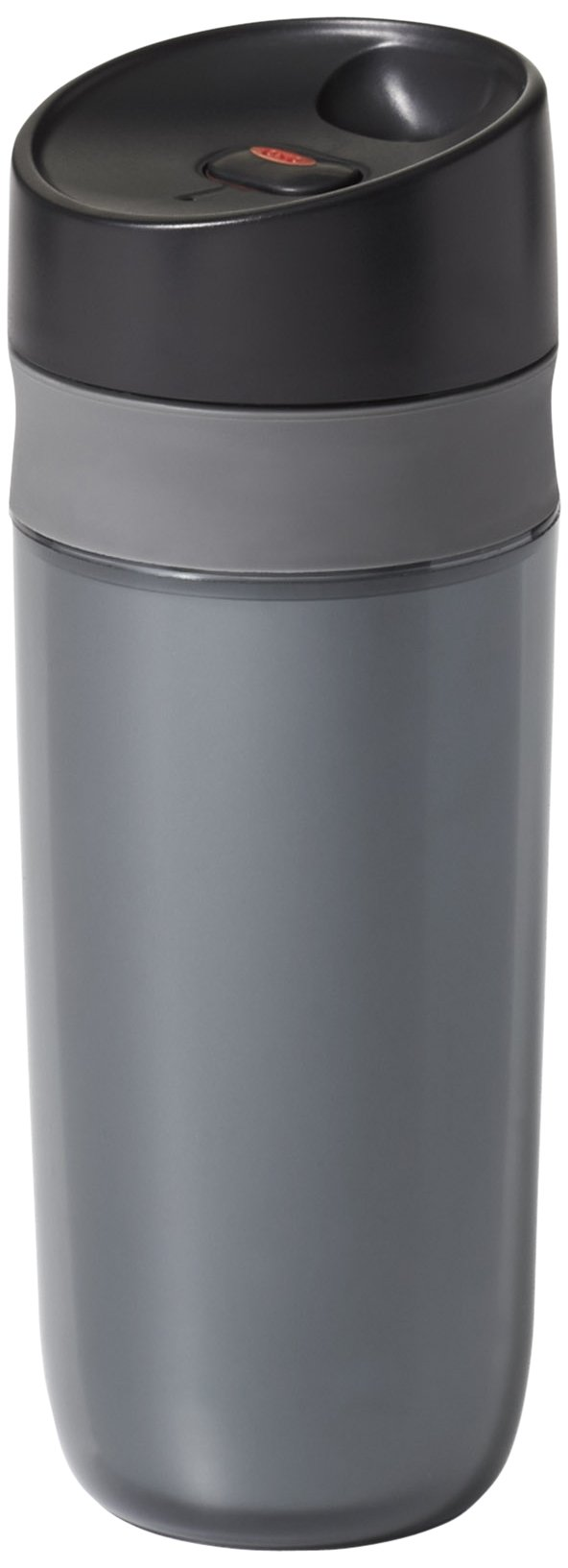OXO Good Grips Double Wall Travel Mug, Graphite- 15 ounce