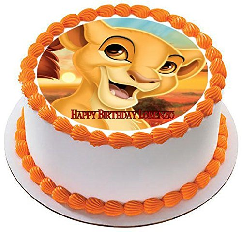 Decorative Themed Accessories DISNEY LION KING LION GUARD 20 Piece Birthday Cupcake Topper Set Featuring Kion and Pride Land Friends Figures Average 1.5 to 2