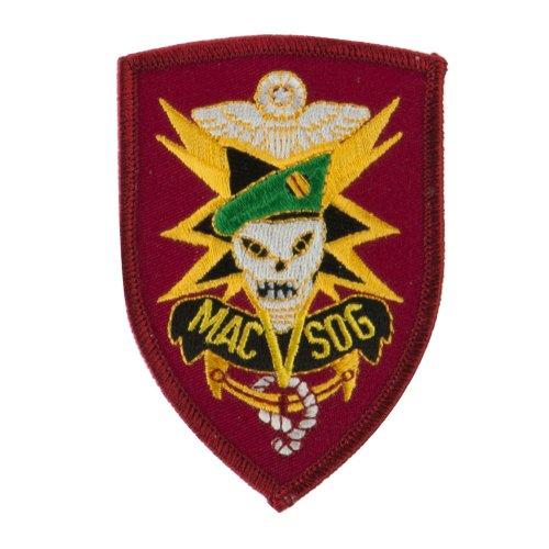 Ace Mac Os - Marine Embroidered Military Patch - Mac OSFM