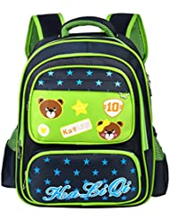 Vbiger School Backpack Adorable School Bag Casual for Primary School Students