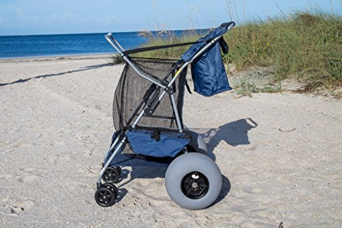 balloon wheel conversion kit  big wheel beach carts includes stainless steel axle