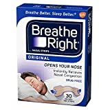 Breathe Right Nasal Strips Original Tan