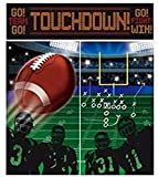 Amscan Football Scene Setters Wall Party Decorating Kit