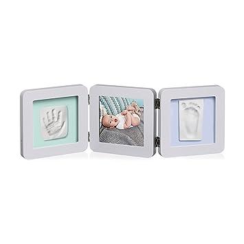 Baby Art Kit de Moulage et dEmpreintes Modern Double Print Frame ...