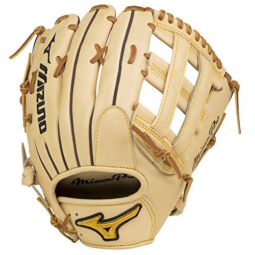Mizuno GMP2-700DH Mizuno Pro Outfield Baseball Gloves, Tan, 12.75